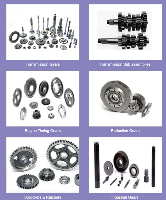Gears for High end bikes
